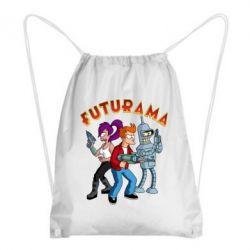 Рюкзак-мішок Футурама герої