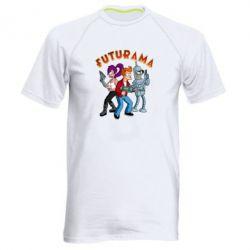 Чоловіча спортивна футболка Футурама герої