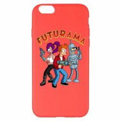Чохол для iPhone 6 Plus/6S Plus Футурама герої