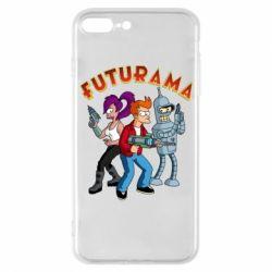 Чохол для iPhone 7 Plus Футурама герої