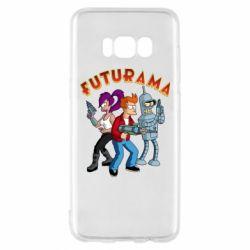 Чохол для Samsung S8 Футурама герої