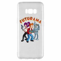 Чохол для Samsung S8+ Футурама герої