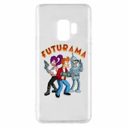 Чохол для Samsung S9 Футурама герої