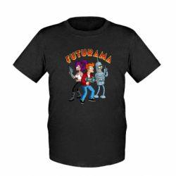 Дитяча футболка Футурама герої