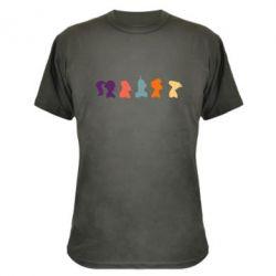 Камуфляжная футболка Futurama - FatLine