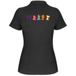 Женская футболка поло Futurama