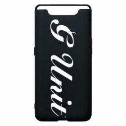 Чохол для Samsung A80 G Unit