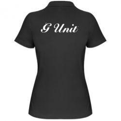 Женская футболка поло G Unit - FatLine