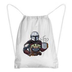 Рюкзак-мешок Galaxy's best dad