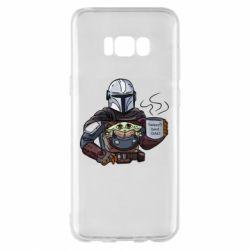 Чехол для Samsung S8+ Galaxy's best dad