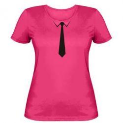 Жіноча футболка Краватку - FatLine