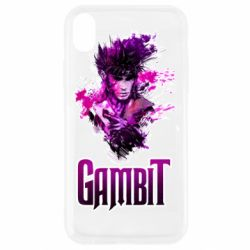 Чехол для iPhone XR Gambit and hero
