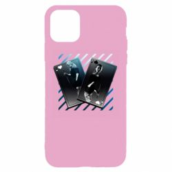 Чехол для iPhone 11 Pro Max Gambling Cards The Witcher and Cyrilla