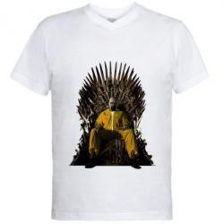 Мужская футболка  с V-образным вырезом Game of Breaking Bad