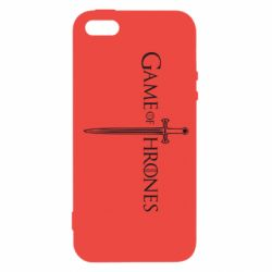 Чехол для iPhone5/5S/SE Game Of Thrones меч