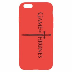 Чехол для iPhone 6/6S Game Of Thrones меч