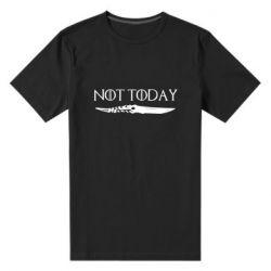 Мужская стрейчевая футболка Game of Thrones: not today