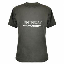 Камуфляжная футболка Game of Thrones: not today