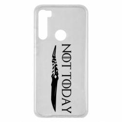 Чехол для Xiaomi Redmi Note 8 Game of Thrones: not today