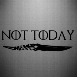 Наклейка Game of Thrones: not today