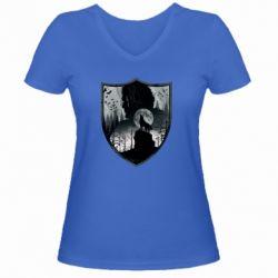 Жіноча футболка з V-подібним вирізом Game of Thrones Silhouettes