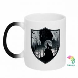 Кружка-хамелеон Game of Thrones Silhouettes