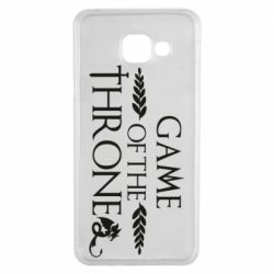 Чохол для Samsung A3 2016 Game of thrones stylized logo