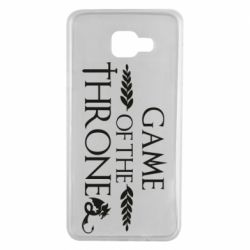 Чохол для Samsung A7 2016 Game of thrones stylized logo