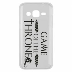 Чохол для Samsung J2 2015 Game of thrones stylized logo