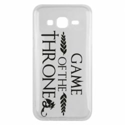Чохол для Samsung J5 2015 Game of thrones stylized logo