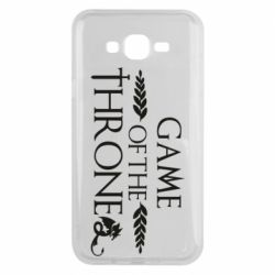 Чохол для Samsung J7 2015 Game of thrones stylized logo
