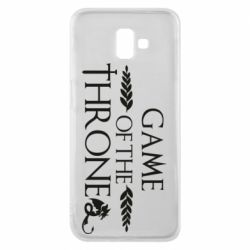 Чохол для Samsung J6 Plus 2018 Game of thrones stylized logo