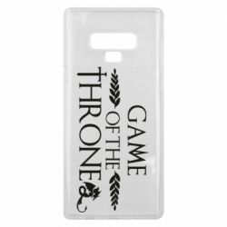 Чохол для Samsung Note 9 Game of thrones stylized logo