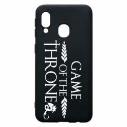 Чохол для Samsung A40 Game of thrones stylized logo