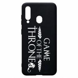 Чохол для Samsung A60 Game of thrones stylized logo