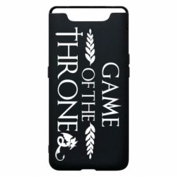 Чохол для Samsung A80 Game of thrones stylized logo