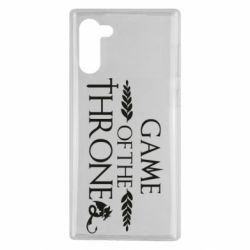 Чохол для Samsung Note 10 Game of thrones stylized logo