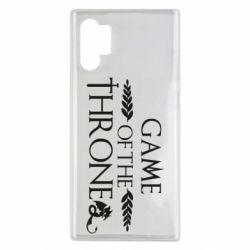 Чохол для Samsung Note 10 Plus Game of thrones stylized logo