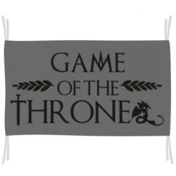Прапор Game of thrones stylized logo