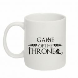 Кружка 320ml Game of thrones stylized logo