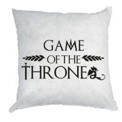 Подушка Game of thrones stylized logo