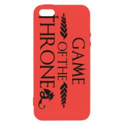 Чохол для iphone 5/5S/SE Game of thrones stylized logo