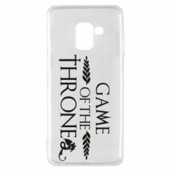 Чохол для Samsung A8 2018 Game of thrones stylized logo