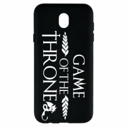 Чохол для Samsung J7 2017 Game of thrones stylized logo