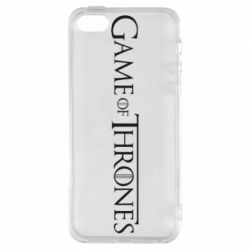 Чехол для iPhone5/5S/SE Game Of Thrones - FatLine