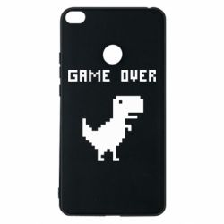 Чехол для Xiaomi Mi Max 2 Game over dino from browser