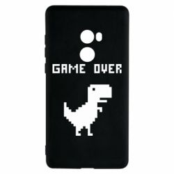 Чехол для Xiaomi Mi Mix 2 Game over dino from browser