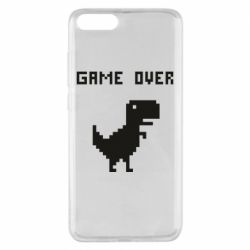 Чехол для Xiaomi Mi Note 3 Game over dino from browser