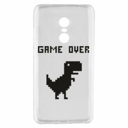 Чехол для Xiaomi Redmi Note 4 Game over dino from browser