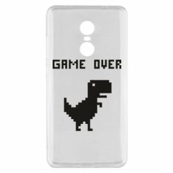 Чехол для Xiaomi Redmi Note 4x Game over dino from browser